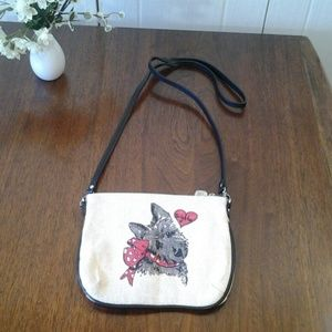 Brighton Dog Crossbody  Purse NWOT